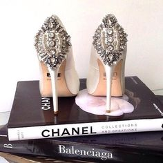 Crystal embellished heels x Chanel | TheyAllHateUs | Page 2