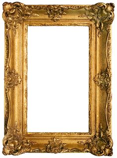 4142aa6012b2 Vintage Gold Gilded Frames Free Printables!