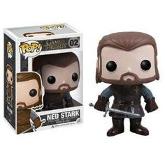 Funko POP Game of Thrones: Ned Stark Vinyl Figure : If you've ever wanted a Pop. Vinyl figure from HBO's hit television show Game of Thrones, then now's your ch