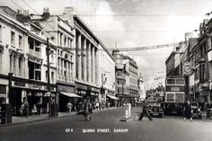 Postcards of the Past - Vintage Postcards of Cardiff, Wales Cardiff Wales, Cymru, Cool Countries, Local History, South Wales, Northern Ireland, Welsh, Vintage Postcards, Old Photos