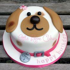 Puppy Birthday Cakes, Puppy Birthday Parties, Themed Birthday Cakes, Dog Birthday, Birthday Ideas, Garden Birthday, Puppy Party, Cake Dog, Puppy Dog Cakes