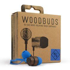 Eco Friendly Wood Earphones