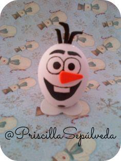 DIY Easter Eggs olaf #Easter #eggs #frozen #olaf