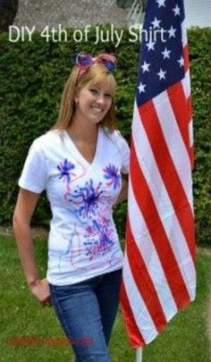 DIY 4th of July Shirt