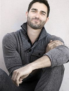 Jesus Christ on a cracker. [Tyler Hoechlin. Teen Wolf. Derek Hale.]