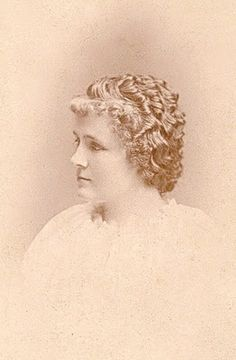 Bertha M. Newby circa 1896