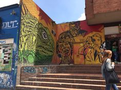 Toxicómano Av Caracas (chapinero) #streetart #bogota Street Art, Caracas