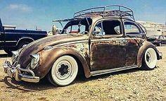 Vw Camper, Vw Bus, Volkswagen, Custom Classic Cars, Rat Look, Day Van, Vw Beetles, Antique Cars, Vehicles