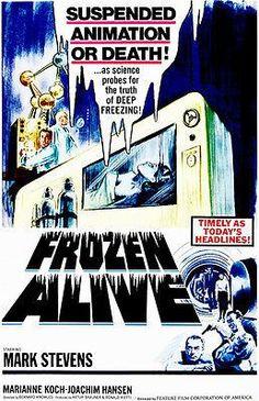 Frozen Alive - 1964 - Movie Poster