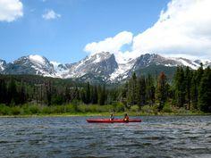 Kayaking-Sprague Lake