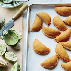 Day 5:Baked Sweet Potato and Tempeh Empanadas | Eating vegan is no easy feat, but it certainly can be done—even deliciously. Here, 30 incredible vegan recipes for a full month of vegan eating.