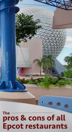 Pros and cons of every Epcot restaurants (w/links to menus and tips)