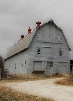 Grey Barn ..rh by roxie