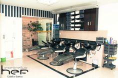 Galeria de Fotos - Ambientes, instalações e equipamentos da Conceito hef cabelo e Estética #Conceitohef #GaleriadeFotos #Ambientes http://www.conceitohef.com.br/galeria/ambientes
