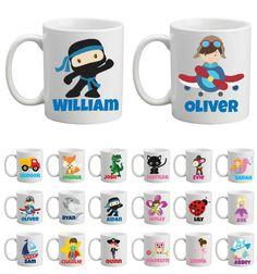 Personalised Mugs - plastic or ceramic -LOTS MORE IMAGES