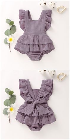 Baby Girl s Square Collar Ruffle Sleeves Ramie Cotton Panel Peplum Romper Baby Girl s Square Collar Ruffle Sleeves Ramie Cotton Panel Peplum Romper tychome tychome official Ramie Cotton Bodysuit Infant Romper Jumpsuit for nbsp hellip Baby Girl Romper, Cute Baby Girl, Baby Girls, Baby Bloomers, Baby Bodysuit, Baby Baby, Newborn Baby Girl Dresses, Toddler Girls, Vintage Baby Clothes
