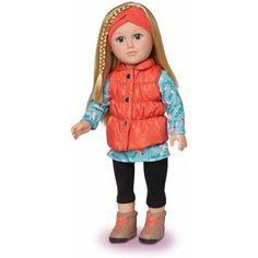 "My Life As 18"" Outdoorsy Girl Doll - Walmart.com"