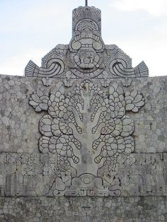 Tree of Life sculpture, Mexico.