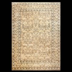 Mood Rug - 22123 | Persian Formal , Origin Persia, Circa: 1900 #antiquerug #rahmanan #persianeug #antiquerugstudio #nyc,