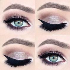 smokey pink eye makeup - beautiful idea for wedding makeup