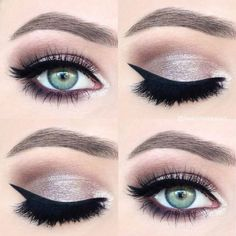 smokey pink eye makeup - beautiful idea for wedding makeup