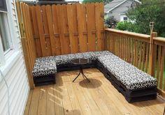 Möbel groß sofa Paletten gartenmöbel europaletten