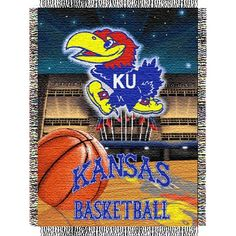 KU Tapestry Throw.