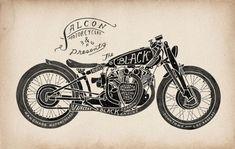 Buell Cafe Racer › Design and Illustration by Vintage Artist Caleb Owen Everitt Harley Davidson Cake, Harley Davidson Birthday, Harley Davidson Roadster, Harley Davidson Wallpaper, Harley Davidson Chopper, Harley Davidson Motorcycles, Pinstriping, Buell Cafe Racer, Garage Metal