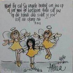 """""""...Hy sal..."""" Teks #Afrikaans - deur Anthea Art __[AntheaKlopper/FB] #BybelBeloftes #iBelieve"""