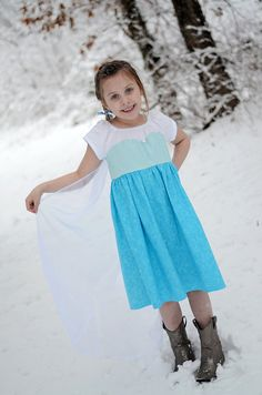 Hey, I found this really awesome Etsy listing at https://www.etsy.com/listing/178725445/elsa-frozen-inspired-princess-play-dress