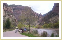 Glenwood Canyon Bike Trail.  Going to go back some day!