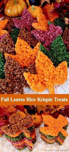 Autumn Krispy Treats (pic only)