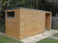 Backyard Sheds, Modern Backyard, Outdoor Sheds, House Fence Design, Garden Design, Garden Cabins, Diy Storage Shed, Building A Container Home, Diy Shed Plans