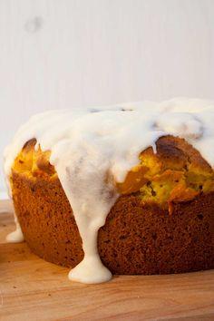 Gâteau à la citrouille et glaçage au citron... trop bon!