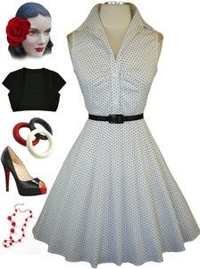 Pin up girl outfit