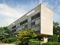 le corbusier swiss pavilion paris facade - Cerca con Google