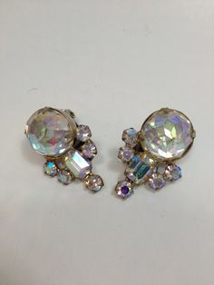 Vintage Weiss earrings on Etsy, $16.00