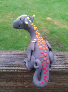 Ooak handmade dragon by ARAartisticcreations on Etsy, $42.00  #Oddmall #Lolly #SeattleWeekly