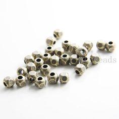30pcs-Antique-Brass-Tone-Base-Metal-Spacers-5-5x5mm-213X-F-203B
