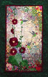 Hummingbird Watercolor Quilt Kit