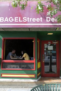 Bagel Street Deli, Athens, Ohio...I crave this all the time! Miss it!