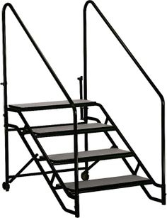 """Midwest Folding Products Stage & Seated Risers Steps For 32""""-40"""" High, 4 Steps"""