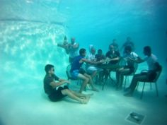 AWESOME!!!! Love sitting at the bottom of the pool.