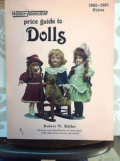 Price Guide to Dolls 1982-1983 Wallace Homestead