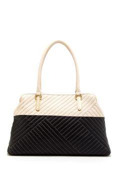 Calvin Klein Christie Leather Tote Bag