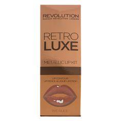 Makeup Revolution Retro Luxe Kits Metallic We Rule - £6