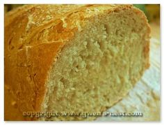 Easy Bread Recipe - Gwen's Nest