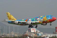 STRANGE 'POKE'MON' COMMERCIAL AIRPLANE!