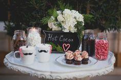 Hot Cocoa Bar.  Love.  Style Me Pretty | Gallery