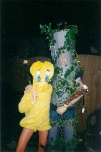 Make yourself a Tree costume for a fancy dress party of Halloween, something unique and different and stand out from the crowd. This homemade Tree costume was Tree Fancy Dress Costume, Tree Costume, Homemade Costumes, Bart Simpson, Wearable Art, Make It Yourself, Christmas Ornaments, Halloween, Holiday Decor